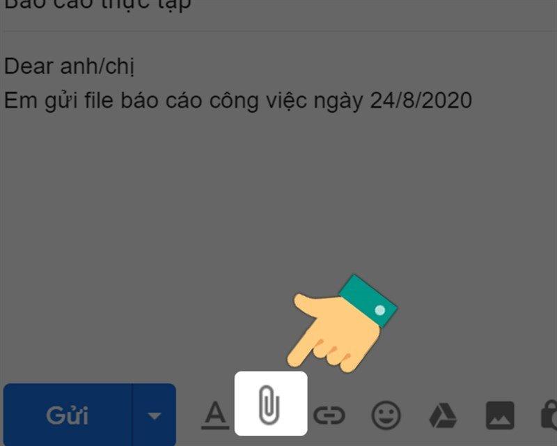 Gửi file word